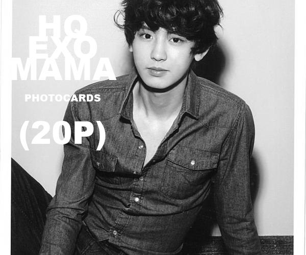 stock photos: EXO [MAMA PHOTOCARDS] by vanillaisyummy