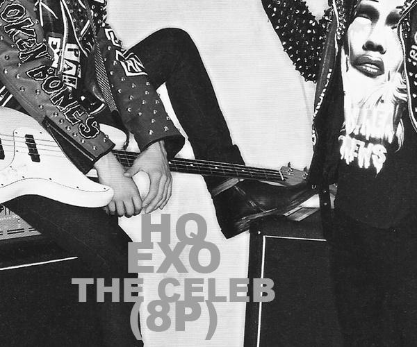 stock photos: EXO [The CELEBRITY] by vanillaisyummy