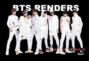 renders pack: bangtan boys N.O