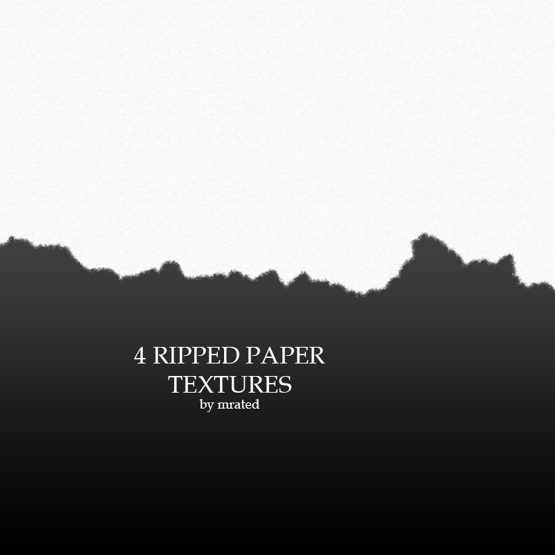 4 Ripped Paper Textures By Vanillaisyummy On DeviantArt