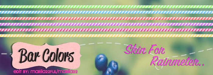 Skin For Rainmeter BarColr's Edit *_* by Mariia22