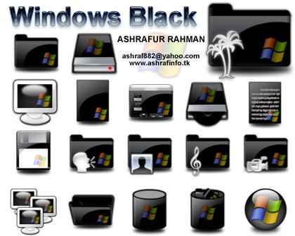 Windows Black by ashraf882