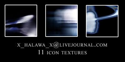 11 Blue Icon Textures