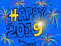 HAPPY 2019 GIF by J-amesT