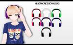 MMD Headphones DL