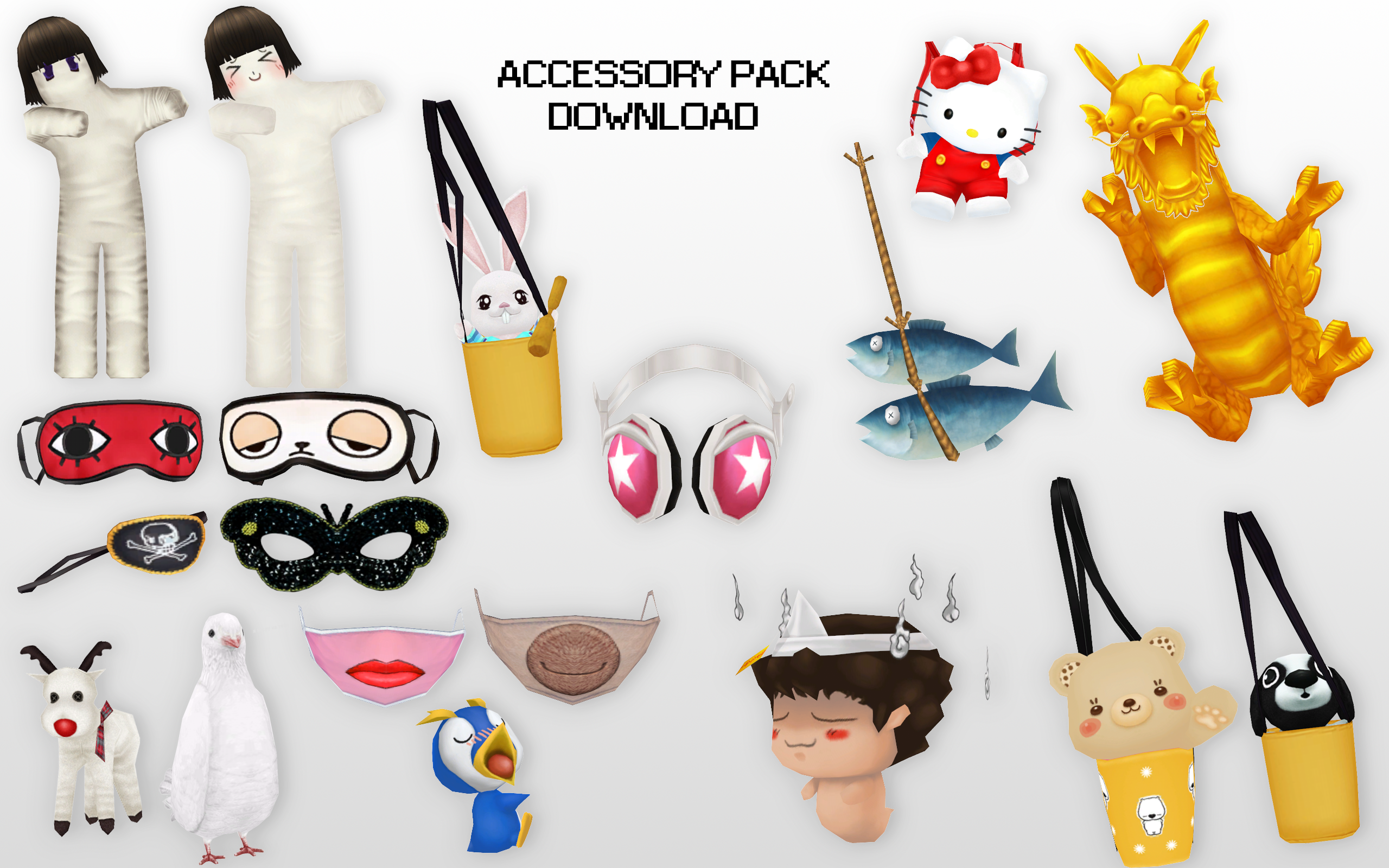 Mmd accessories download