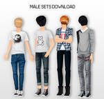MMD Male Sets DL