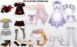MMD PW Clothes DL