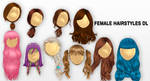 MMD Female Hairstyles DL