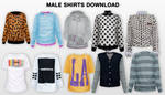 MMD Male Shirts DL