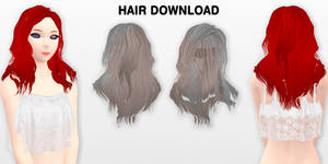 MMD Hair DL