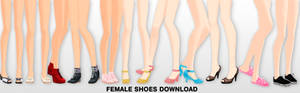 MMD Female shoes DL