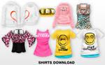 MMD Shirts DL