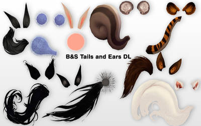MMD BnS Tails and Ears DL