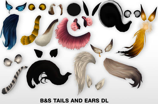 MMD Tails and Ears DL