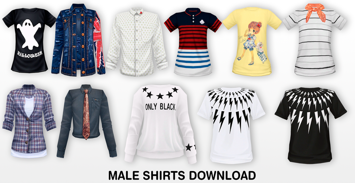 Male Outfit Mmd Dl