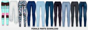 MMD Female Pants DL