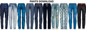 MMD Pants DL