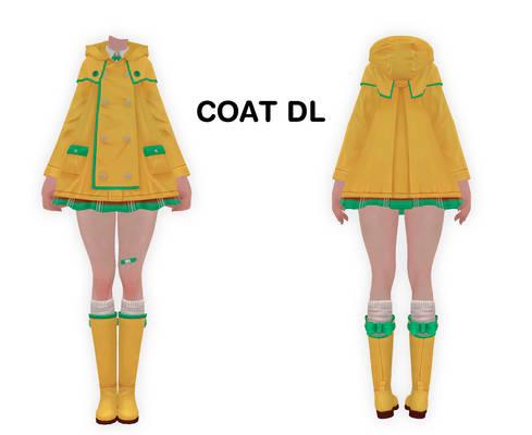 MMD Coat DL