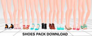 MMD Shoes pack DL