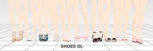 MMD Shoes DL