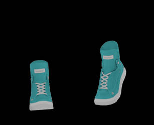 [MMD] Boots DL by UnluckyCandyFox