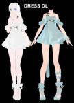 [MMD] Dress DL~