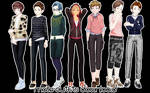 [MMD DL] Male outfits