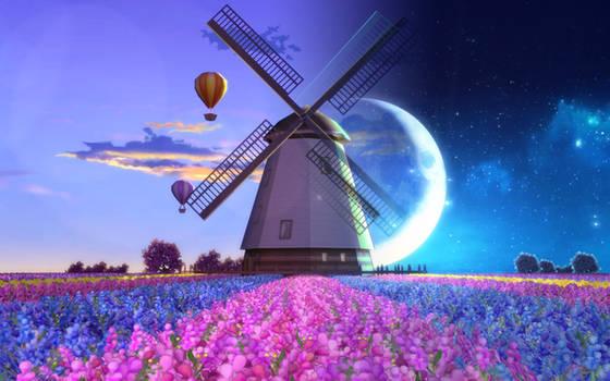 [MMD DL] Windmill stage