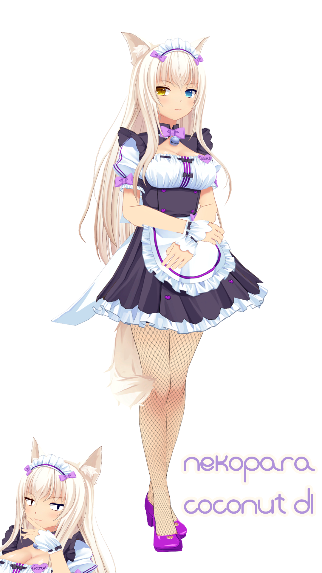 [MMD MODEL DL] Nekopara Coconut