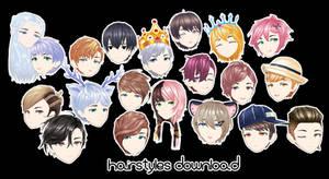 [MMD DL] hairstyles dl