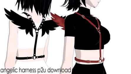Angelic Harness accessory [MMD P2U DL]