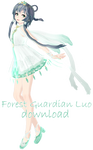 [MMD DL] Forest Guardian Luo