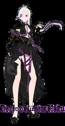 [MMD DL] Demon Hunter Haku