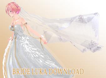 [MMD] Bride Luka