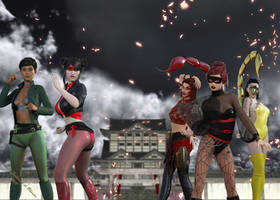 Dragon Lady Friends and Foes - Gif and MP4 by TRAGICHEROINESCOMICS
