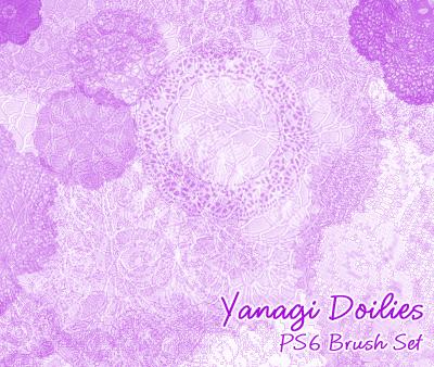 Yanagi Doily Brushes