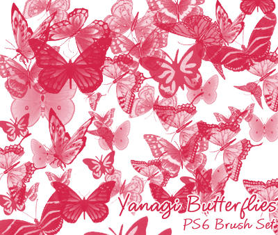 Yanagi Butterfly Brushes by yanagi-san