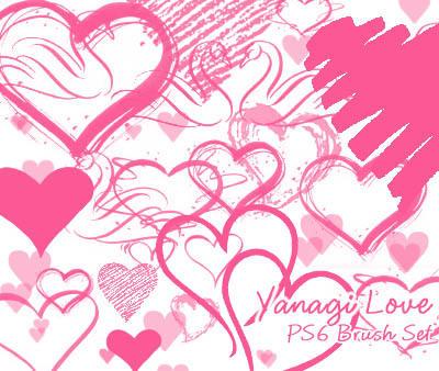 Yanagi Love Brushes by yanagi-san