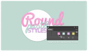 Round Pastel Styles