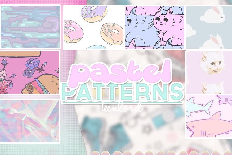 Pastel Patterns by Luunatico