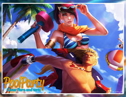 PooL Party Facebook Cover