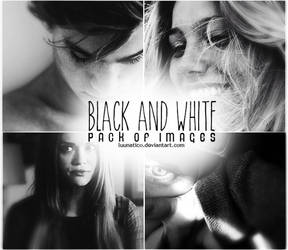 Black and White Pack of Images
