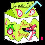 Dragonfruit Milk! by ChillDrakaina