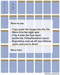 Collection Sheet Template by Iduna-Haya