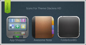 Extra Glaciens HD Icons Pack 4