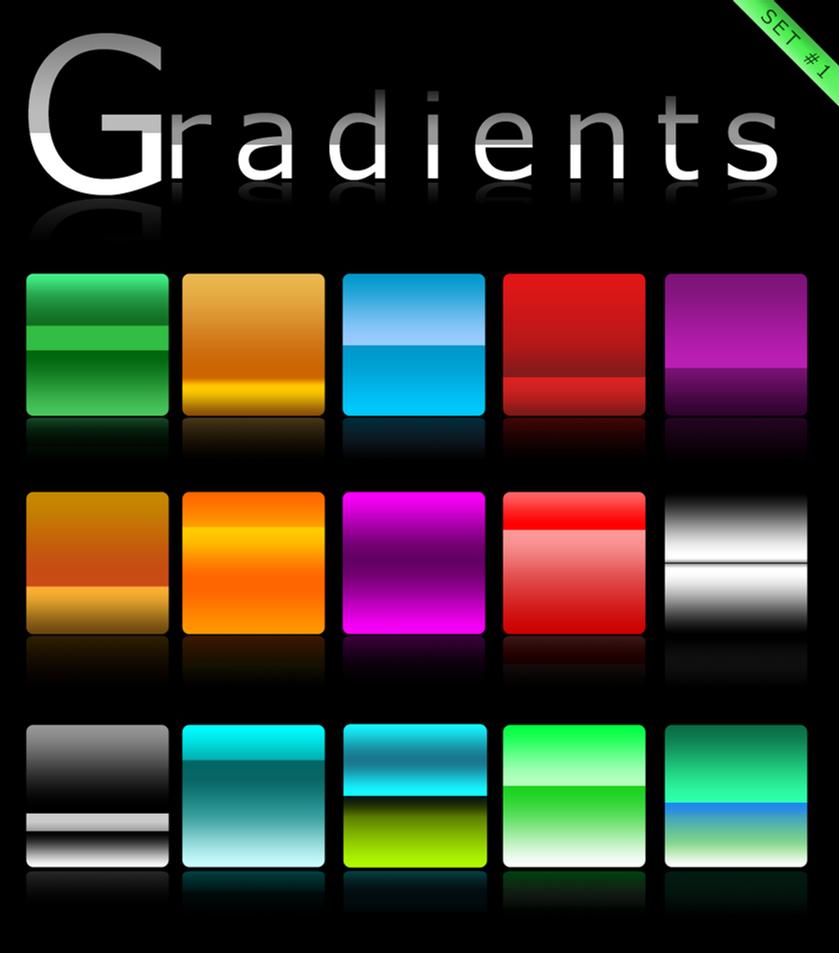 Gradients set 1 by Roamn