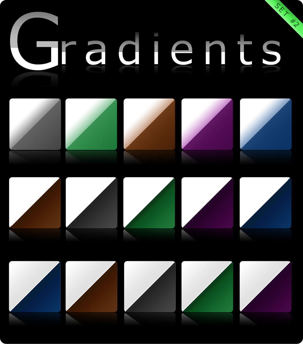 Gradients set 2 by Roamn