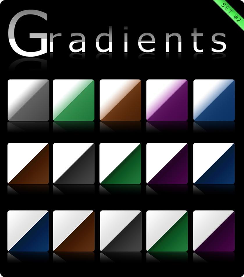 Gradients set 2 by Roamn