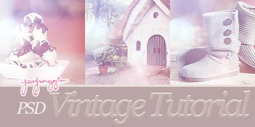 JJ's Tutorial - Vintage PSD